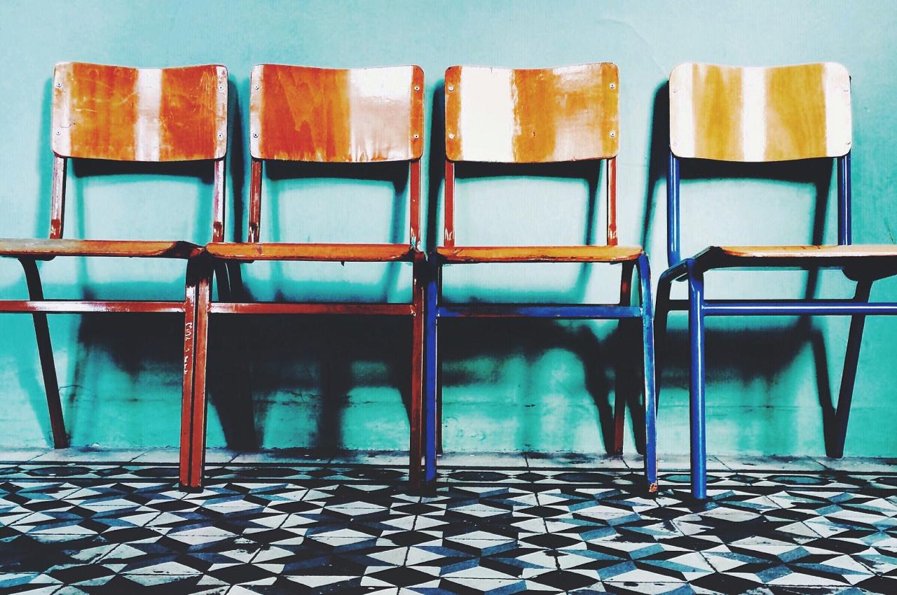 種類のある椅子