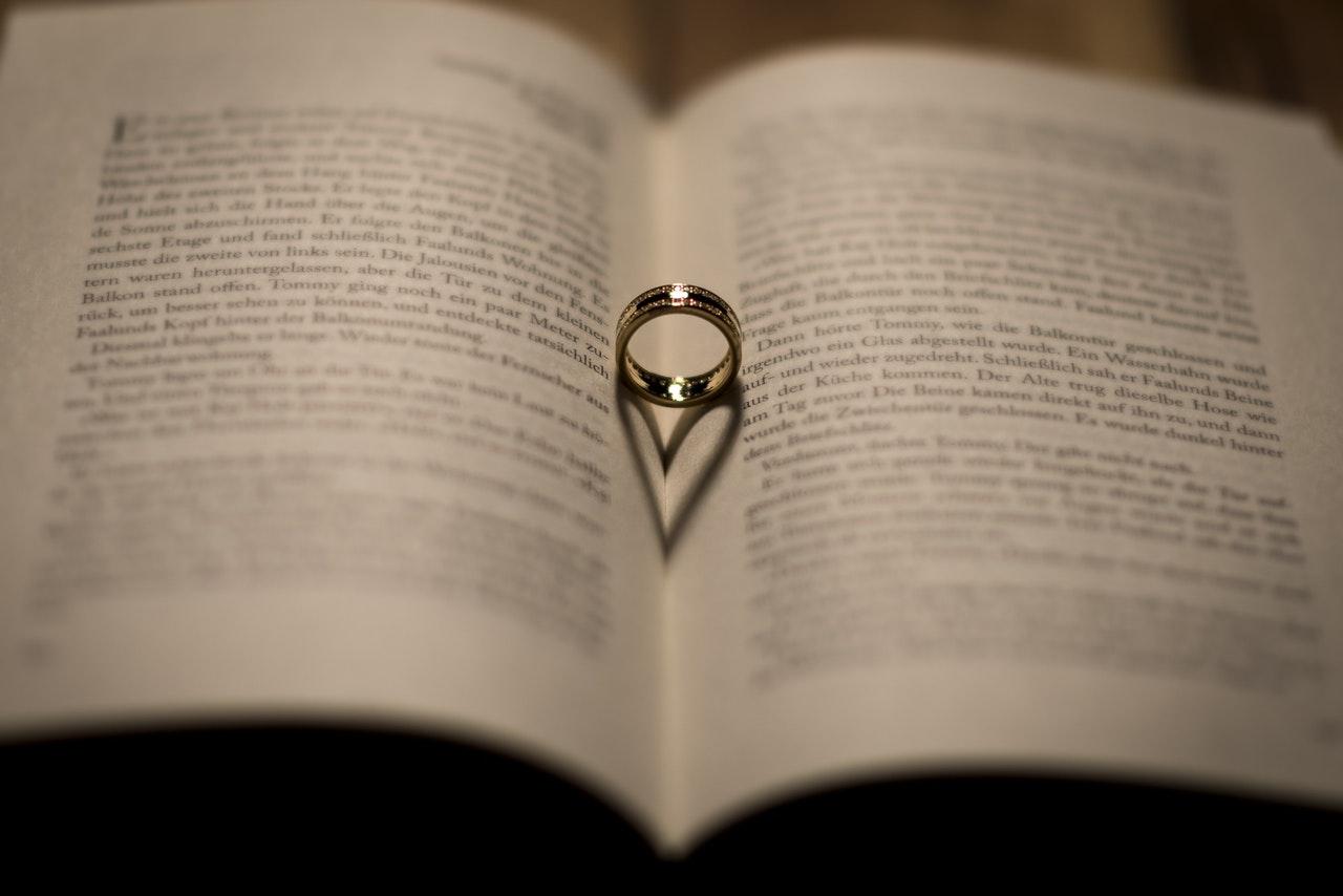 結婚指輪と本