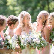 祝われる花嫁