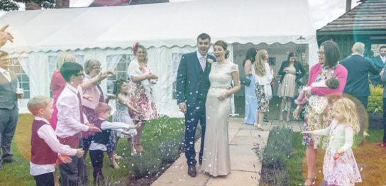 子供達と結婚式