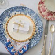 結婚式の皿